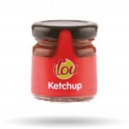 Ketchup Pot Verre 40 GR X 24