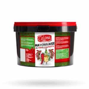 Mayonnaise Piment Espellette 2,9 KG