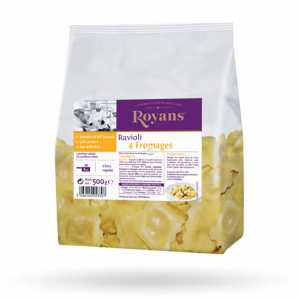 Ravioli 4 fromages 500GR