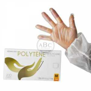 Gant Polytene Alimentaire Taille L X 200
