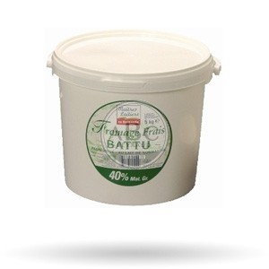Fromage Blanc 40 % 5KG